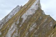 Blick auf die Nünenenflue (2102 m.ü.M.)