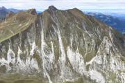 Blick auf den Chumlispitz (2026 m.ü.M.)
