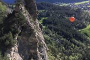 Tyrolienne (diese ist nur mit Bergführer nutzbar)
