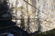 Tyrolienne (auch ohne Bergführer nutzbar)