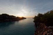 Cala Esmeralda (Sonnenaufgang)