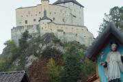 Blick auf Schloss Tarasp