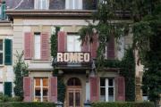"""ROMEO (""""Wortspielereien auf dem Wandelweg"""", im Kirchenfeld- und Gryphenhübeliquartier, Bern, 2018)"""