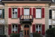 """JULIA (""""Wortspielereien auf dem Wandelweg"""", im Kirchenfeld- und Gryphenhübeliquartier, Bern, 2018)"""