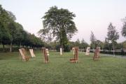 """10 ENDLICHKEIT (Ausstellung """"ZEIT LOS LASSEN"""", Schosshaldenfriedhof, Bern/Ostermundigen 2019)"""