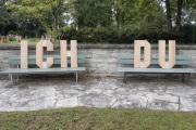 """12 ICH DU (Ausstellung """"ZEIT LOS LASSEN"""", Schosshaldenfriedhof, Bern/Ostermundigen 2019)"""