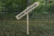 """14 SCHÖNE AUSSICHTEN (Ausstellung """"ZEIT LOS LASSEN"""", Schosshaldenfriedhof, Bern/Ostermundigen 2019)"""
