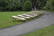 """17 SCHLAFEN (Ausstellung """"ZEIT LOS LASSEN"""", Schosshaldenfriedhof, Bern/Ostermundigen 2019)"""