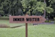 """18 IMMER WEITER  (Ausstellung """"ZEIT LOS LASSEN"""", Schosshaldenfriedhof, Bern/Ostermundigen 2019)"""