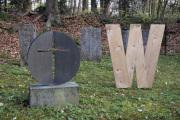 """20 WIR  (Ausstellung """"ZEIT LOS LASSEN"""", Schosshaldenfriedhof, Bern/Ostermundigen 2019)"""