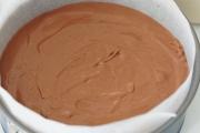 Dreierlei-Schokoladenmousse-Torte