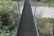 Hängebrücke Sense - Felsenhaus