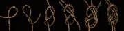 Doppelter Achterknoten, gesteckt