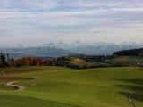 Blick vom Gurten auf die Berner Alpen