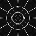 Hyperbolische Projektion (115°)