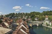 Blick von der Nydeggbrücke in Bern