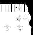 Anlegen an der Leeseite (mit Segeln)