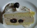 Eisparfait-Torte