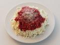 Spaghetti-Torte