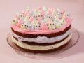 Kleine-Monster-Torte mit Marshmallow-Frosting